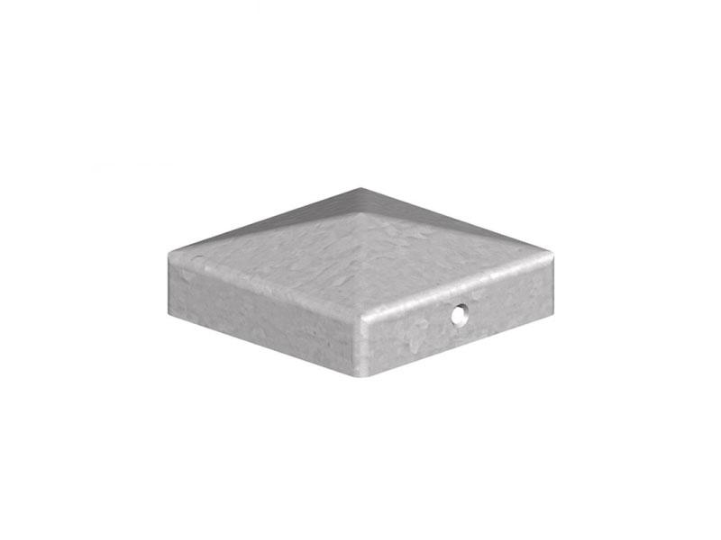 Metal Post Cap 100mm x 100mm Galvanised