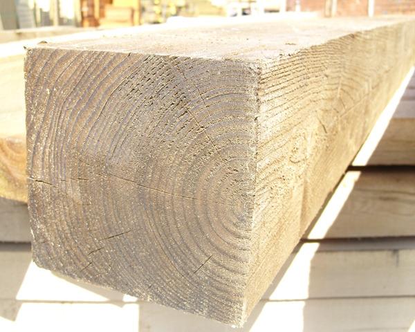 175mm x 175mm 2.1m Timber Post HC4 Pressure Treated Green