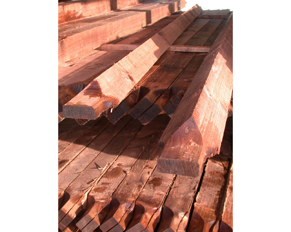3.0m Ended Arris Rail Pressure Treated Brown