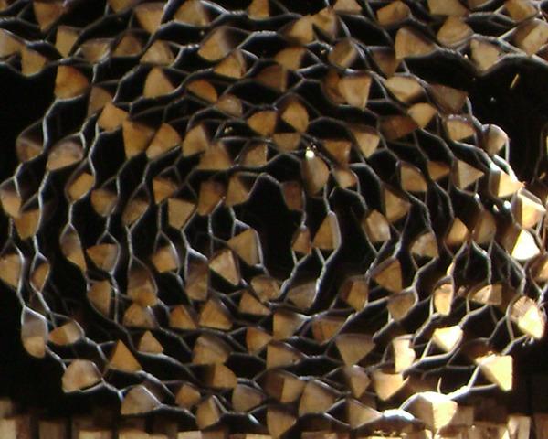 0.91m x 9.25m Chestnut Paling Roll