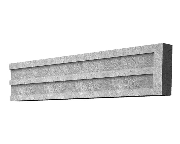 1.83m 150mm Concrete Gravel Board Recess