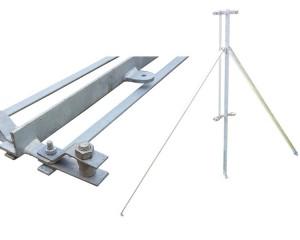 1.5m Angle Iron 2-Way Post