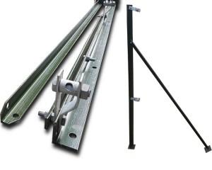 1.5m Angle Iron End Post