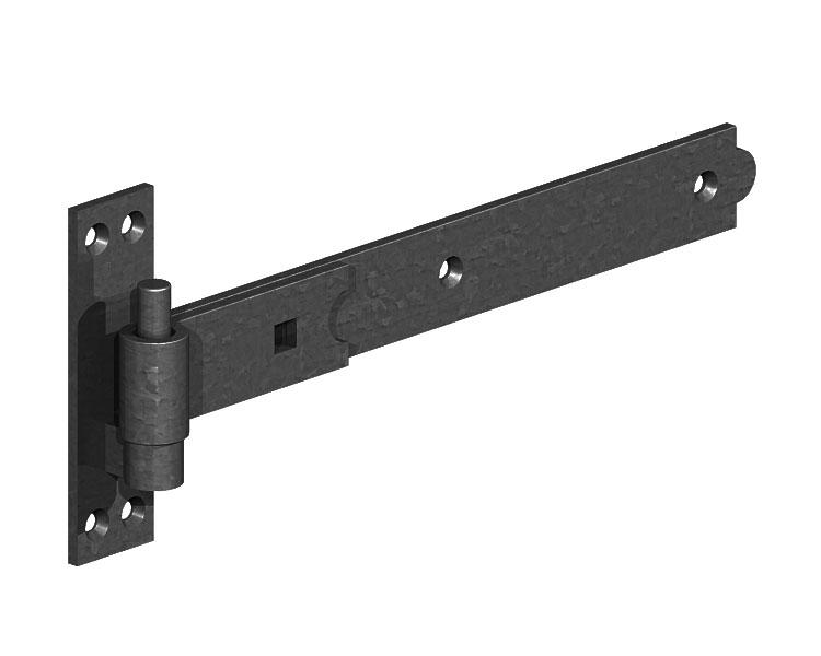 Str Hooks and Bands Black 305mm P/P