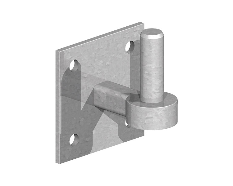 Hook on Plate 100x100x19mm Pin