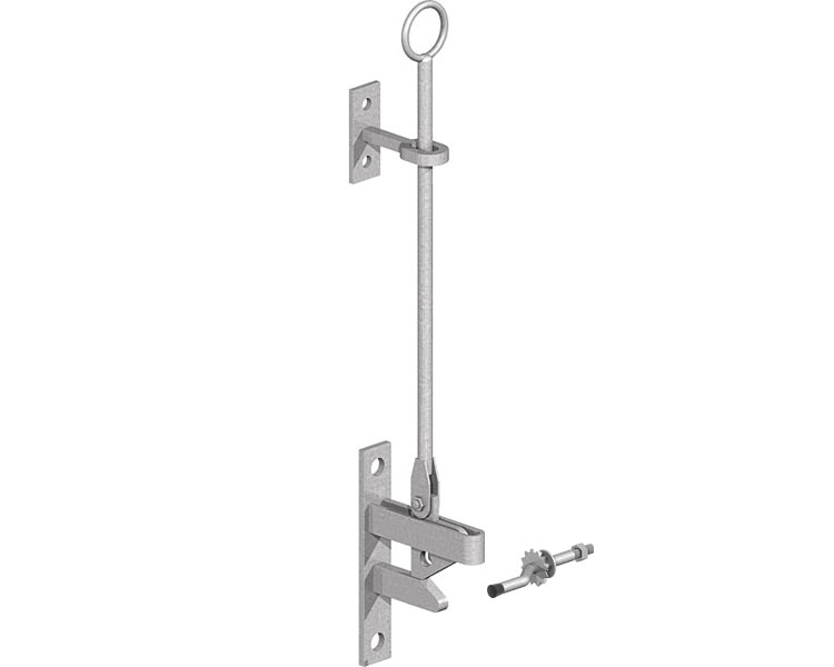 Hunting Type Gate Catch Galv