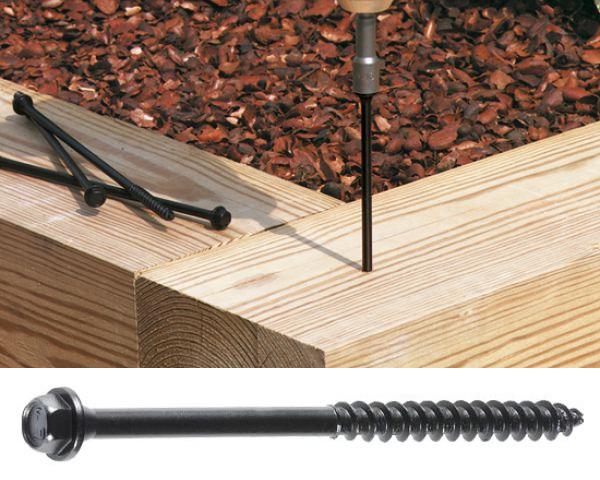 Timberlok Fasteners (12 Pack) 150mm