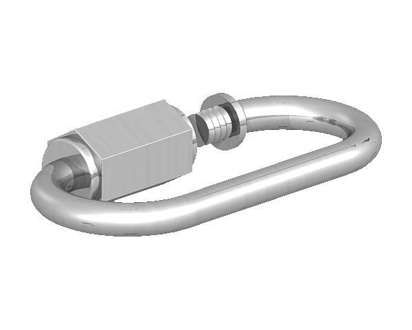 Quick Repair Link Galvanised 4mm B/P