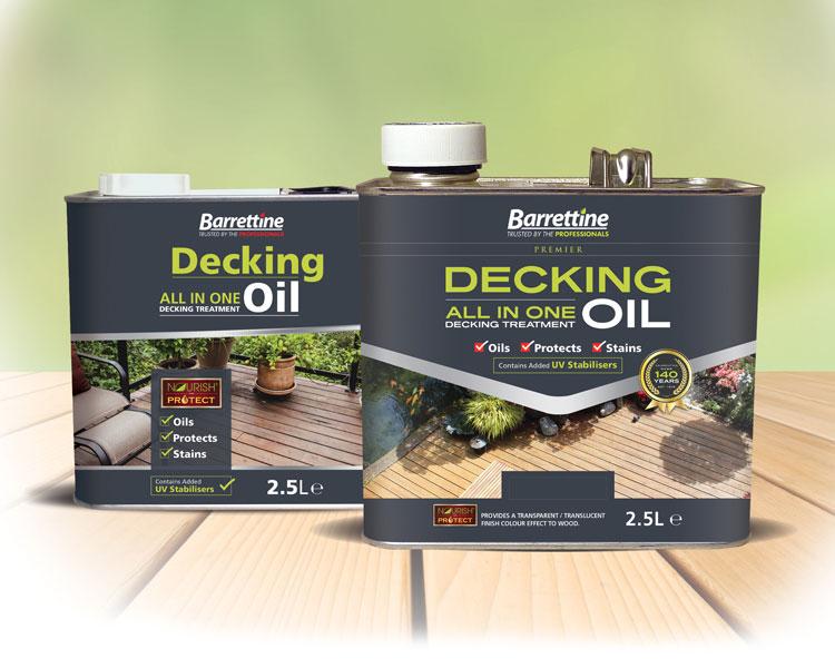 Decking Treatment Cedar Red 2.5 ltr
