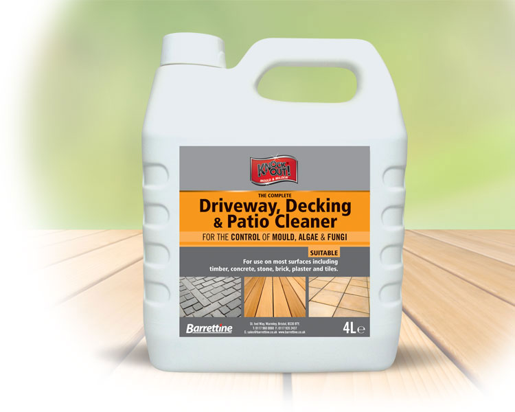 Decking   Patio Cleaner 4 ltr