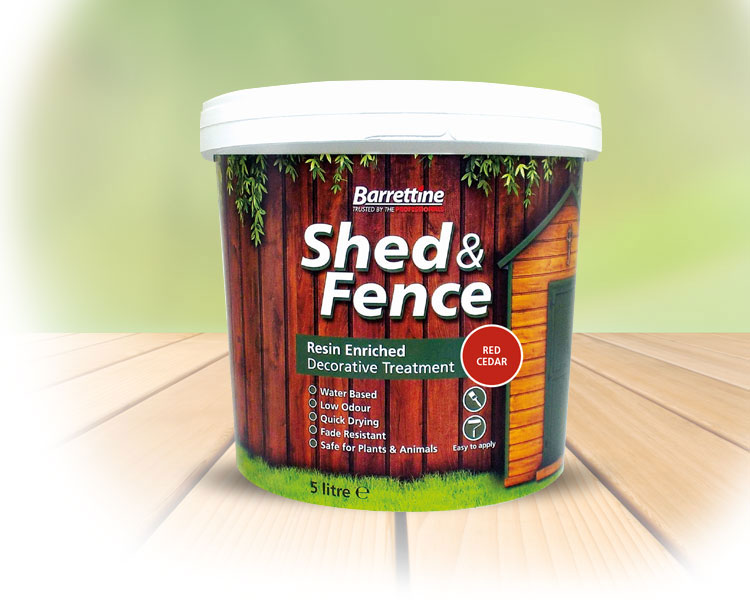 Shed   Fence Treatment Red Cedar 5 ltr