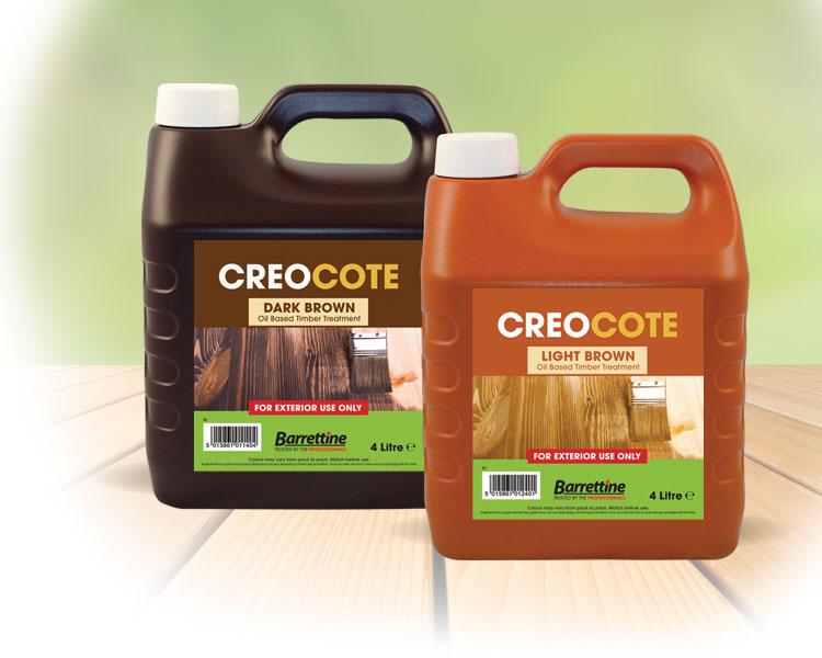 Creocote New Formula D/Brown 4 ltr