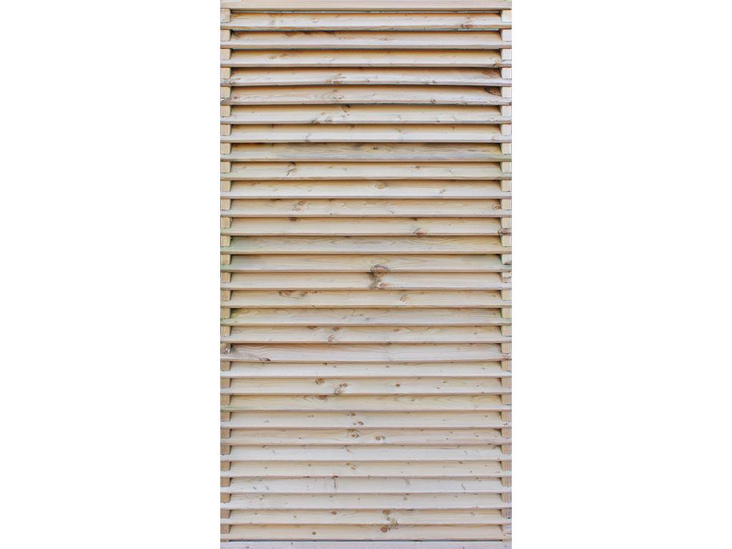Venetian Panel 1.8x0.9m Pressure Treated Green
