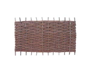 Willow Hurdle Fence Panel