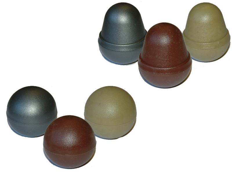 Graphite PVC Acorn/Globe (Grey)