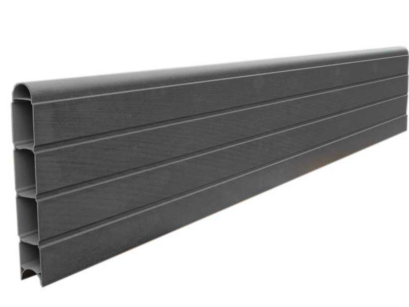 PVC Eco Fence Board 1.828m - Graphite (Grey)