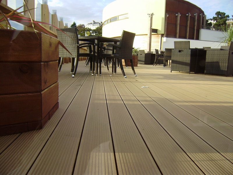 Twinson Deck Board 28x140 Apricot Brown 4.5m_3