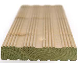 Winchester Decking 4.2m 144x27mm