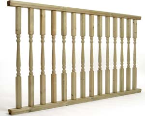 Colonial Balustrade 1.8mtr x 985mm