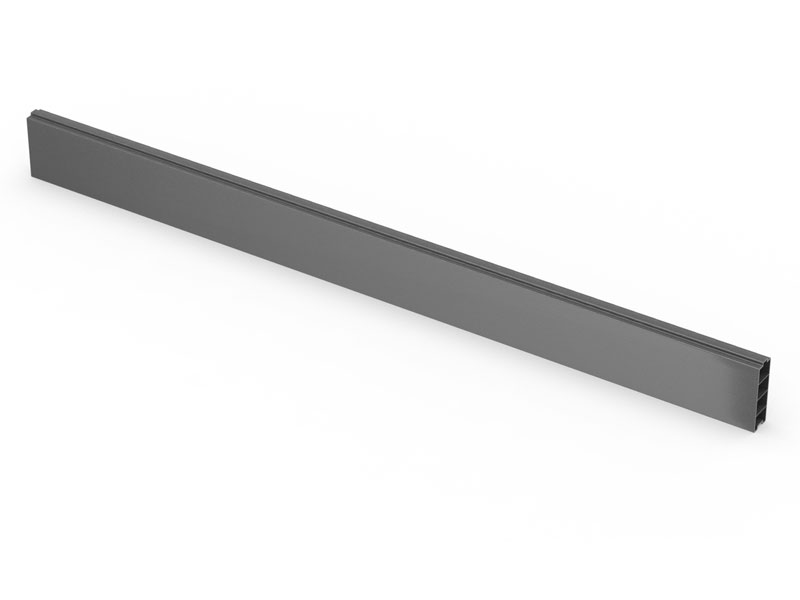 1.83m Dura Gravel Board Anthracite Grey