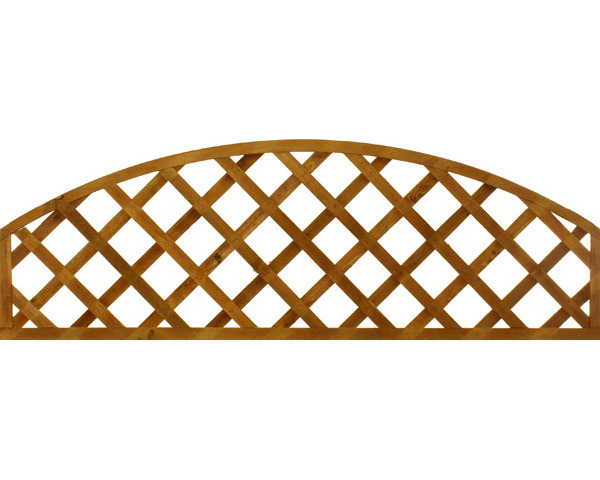 Diamond Trellis Panel Convex 1.83 x 0.61m
