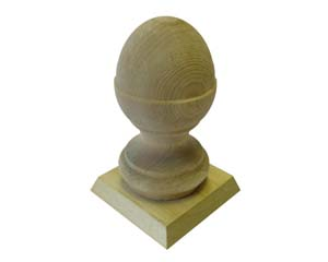 Acorn Finial and Cap