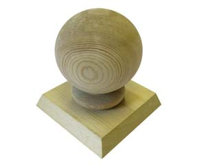 Ball Finial and Cap
