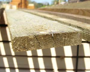 22mm x 100mm Timber Rail