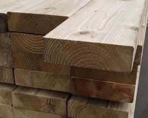 47mm x 150mm C16 Timber Rail
