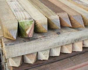 50mm x 50mm Timber Peg