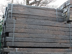 Reclaimed Railway Sleeper 2.6m 250x150mm