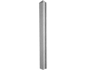 Concrete Slotted End Post