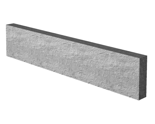 1.83m 300mm Concrete Gravel Board Smooth