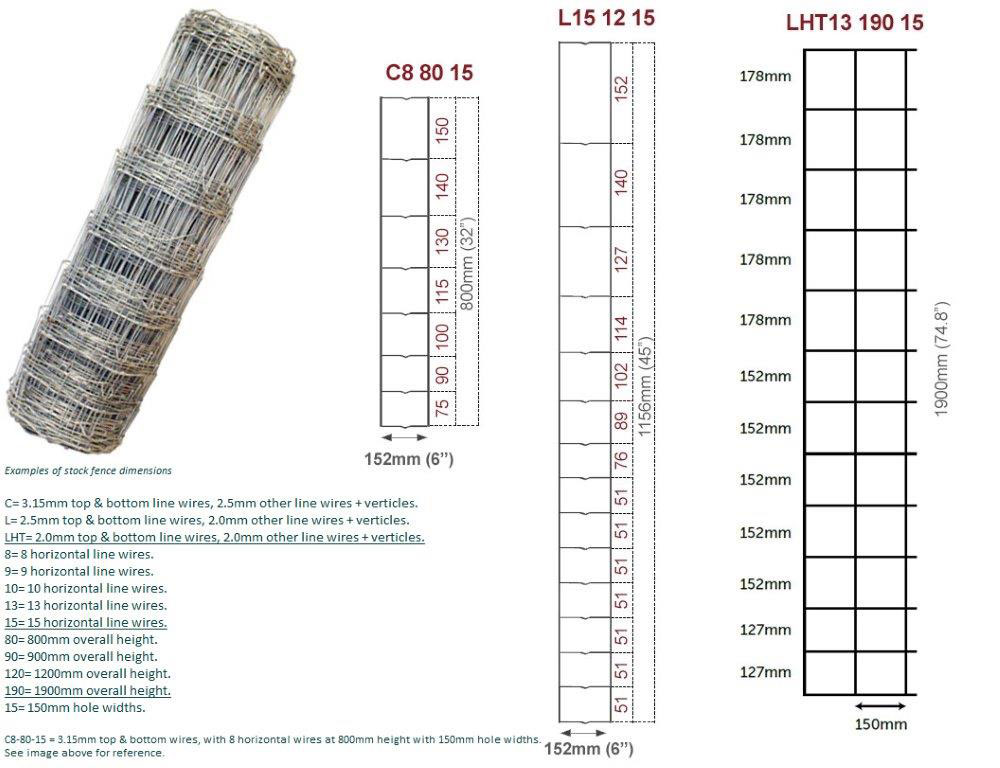 50m LHT 13/190/15 Stockfence Deer_1