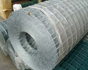 Weldmesh Galvanised 6x6mm 2m x 0.915m