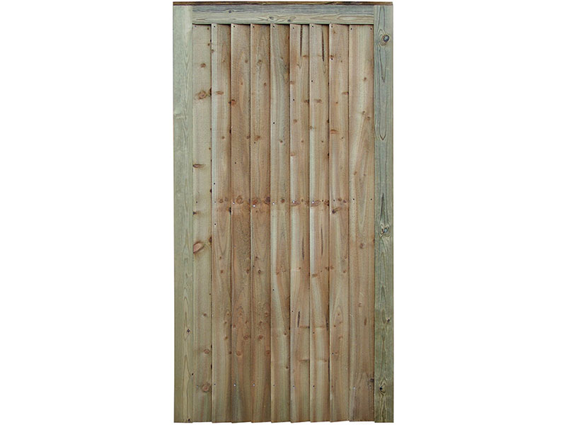 Featheredge Gate F/Top 1.75 x 0.76m Grn