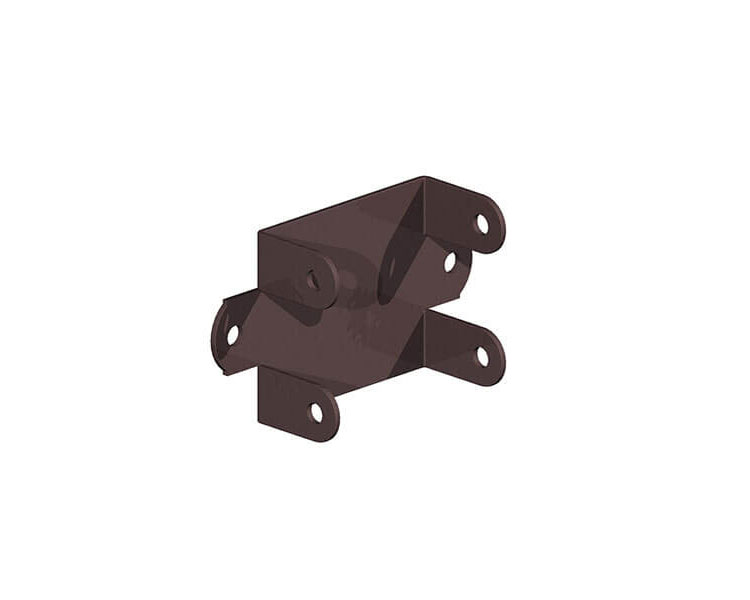 Trellis Clip - Brown 32mm