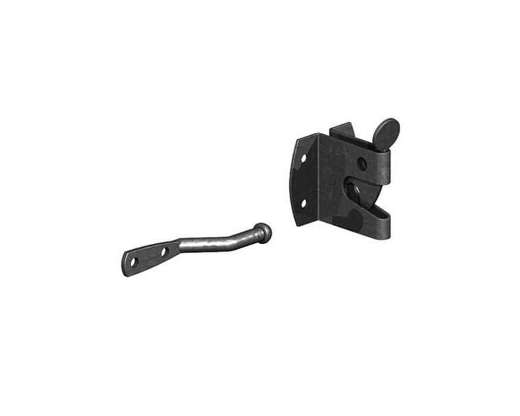 Medium Auto Gate Catch Black P/P