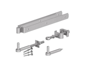 Adjustable Field Gate Hinge Set - Galvanised