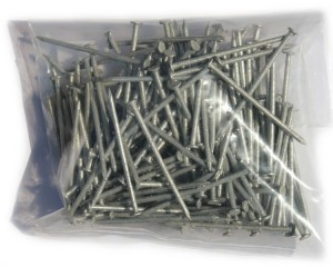 Round Wire Nails Galv 65mm x 0.5kg P/P