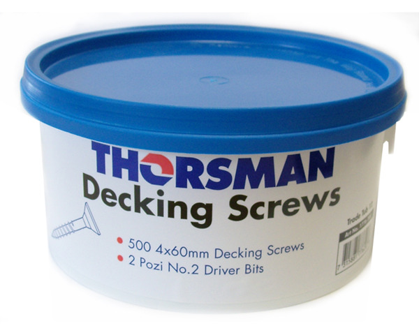 Decking Screws Trade Tubs (500)