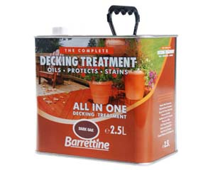 Decking Treatment All Colours 2.5 ltr