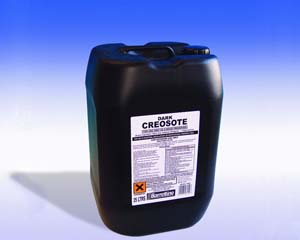 Creosote D/Brown Trade Use 25 ltr
