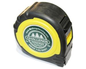 Challenge Logo Retractable Tape - 5mtr