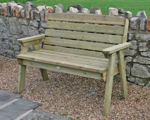 Dean Two Seater Garden Bench