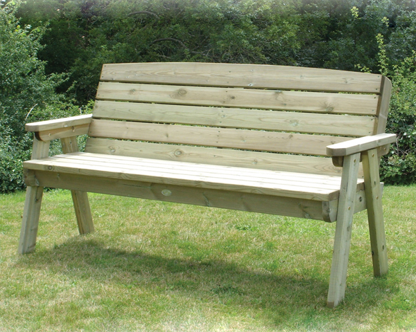 Dean Three Seater Garden Bench