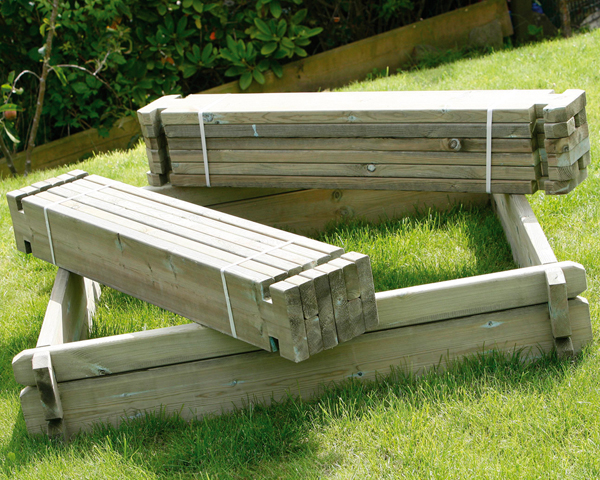 Large Raised Bed Kit