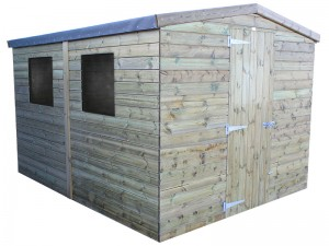 Challenger Shed Apex 10x8
