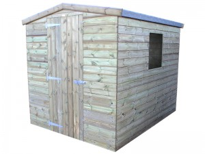 Challenger Shed Apex 8x6