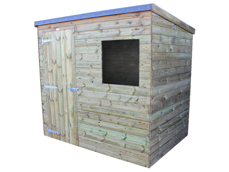 Challenger Shed Pent 7x5